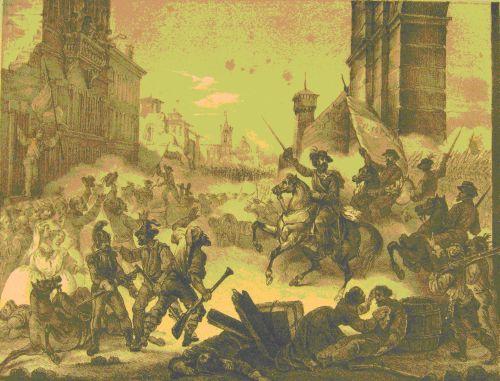 Entrata di Garibaldi a Palermo