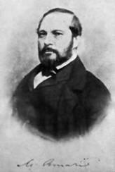 AMARI MICHELE, (Palermo, 7 luglio 1806 - Firenze, 16 luglio 1889)