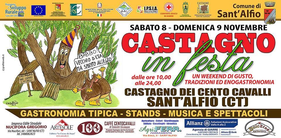 Castagno in Festa a Sant'Alfio