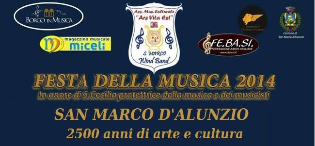 San Marco d'Alunzio: Una stagione concertistica di musica d'autore dal 22 al 30 Novembre 2014