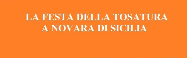 Festa della tosatura a Novara di Sicilia