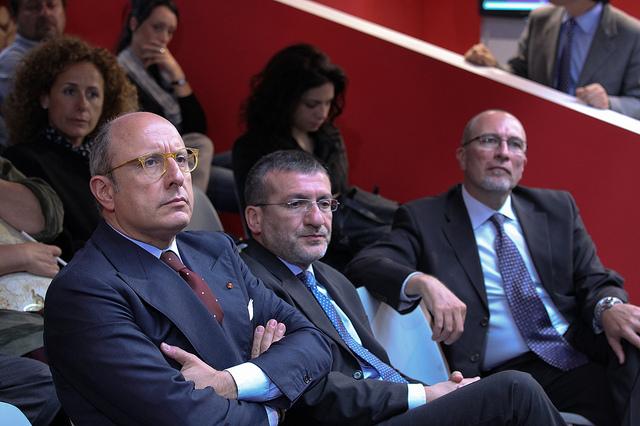 L'assessore per l'economia Gaetano Armao durante il seminario CAD e regioni: l'esperienza pilota della Sicilia
