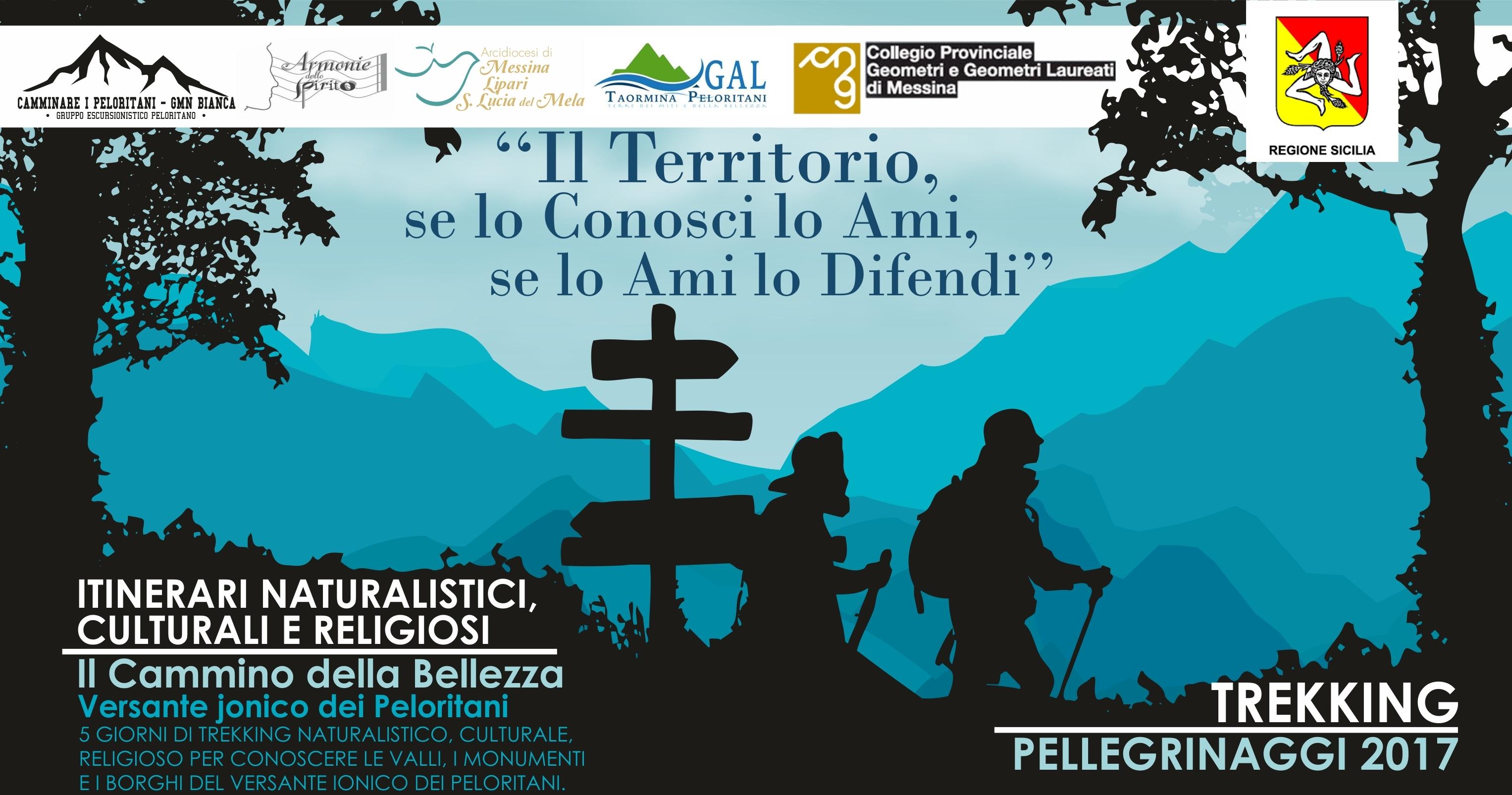 Itinerari culturali, naturalistici e religiosi nel versante ionico dei Peloritani