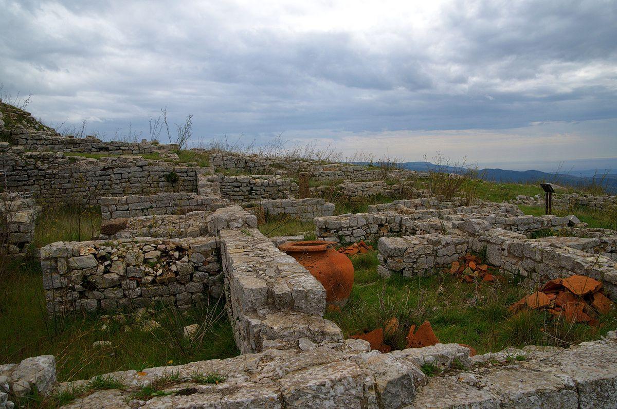 Area archeologica di Monte Adranone a Sambuca di Sicilia