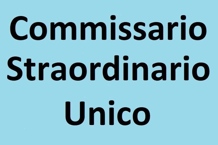 Commissario Straordinario Unico