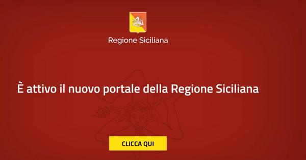 E' online il nuovo portale istituzionale della Regione Siciliana