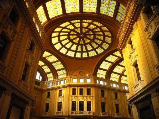 Messina: interno Galleria Vittorio Emanuele