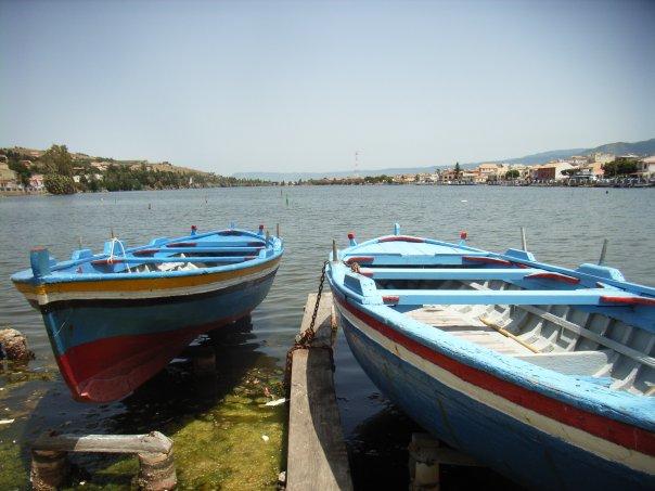 Messina: laghi Ganzirri