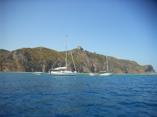 Colle del Tindari: belvedere dal mare