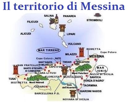 IMMAGINE TERRITORIO MESSINA AGGIORNATA