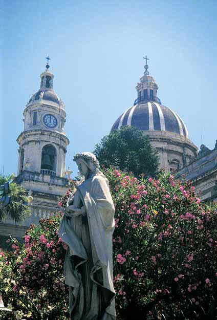 Cupola del Duomo di Catania