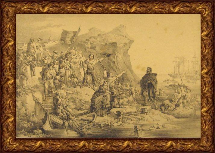 Garibaldini e borbonici nel 1860